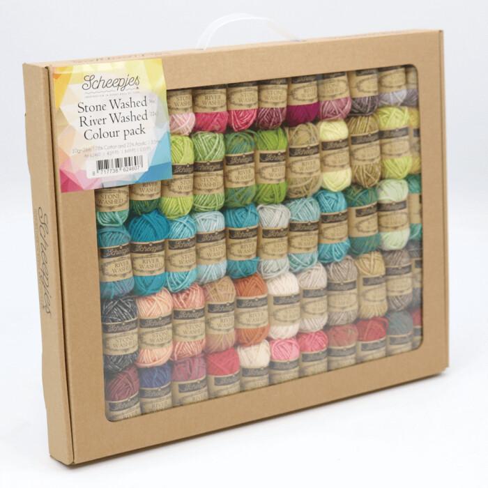 Scheepjes Stonewashed- Riverwashed Colour pack