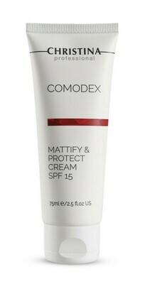 Comodex Mattify & Protect Cream SPF-15 75ml