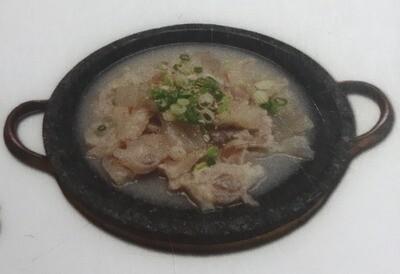 Boiled Beef Tendon -L (도가니수육 - L)