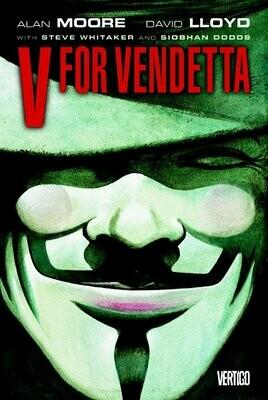 Alan Moore in David Lloyd: V for Vendetta