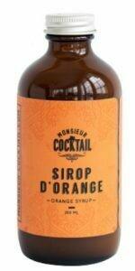 Sirop d'orange