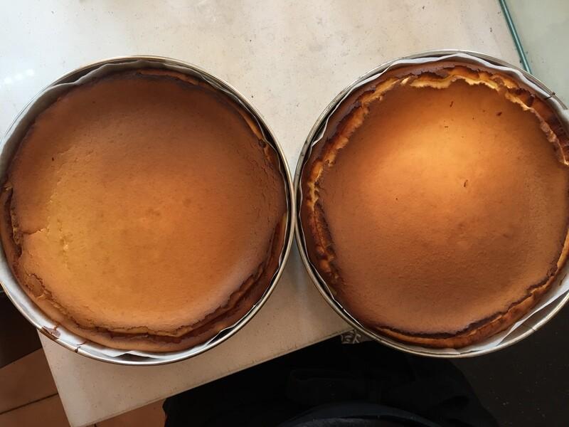 Super Basque Cheesecake - now Gluten-Free! (serves 6-8)