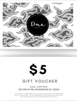 $5 Gift Voucher