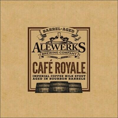 Cafe Royale 32oz Crowler