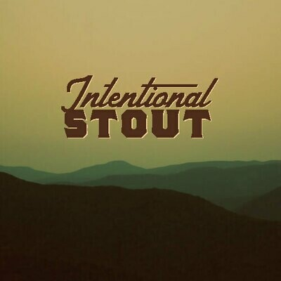 Intentional Stout 32oz Crowler