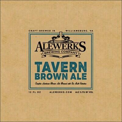 Tavern Brown Ale 32oz Crowler