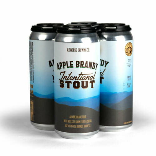 Apple Brandy Intentional Stout 16oz Can 4-Pack