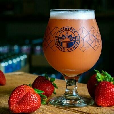 Strawberry Pineapple Blonde Ale 32oz Crowler