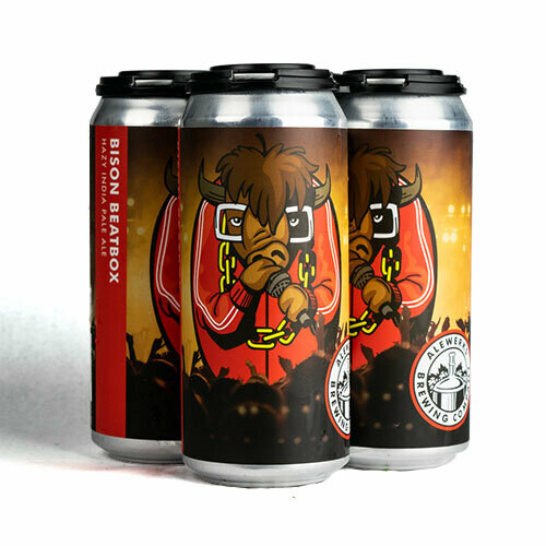 Bison Beatbox 4-pack 16oz Cans