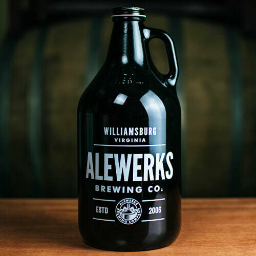 American 64oz Growler Water St Wheat