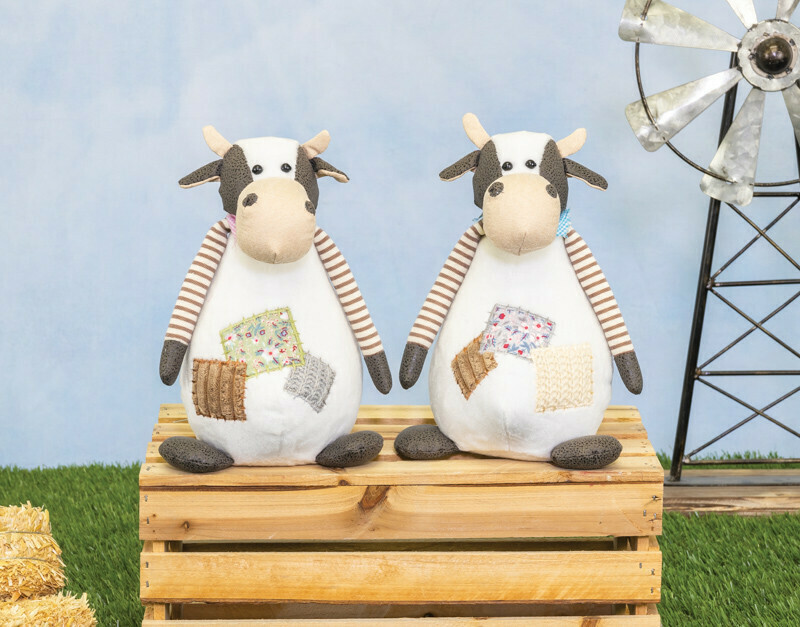 Quilt Patch Cow Sitter