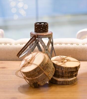 Wood Slice Coaster