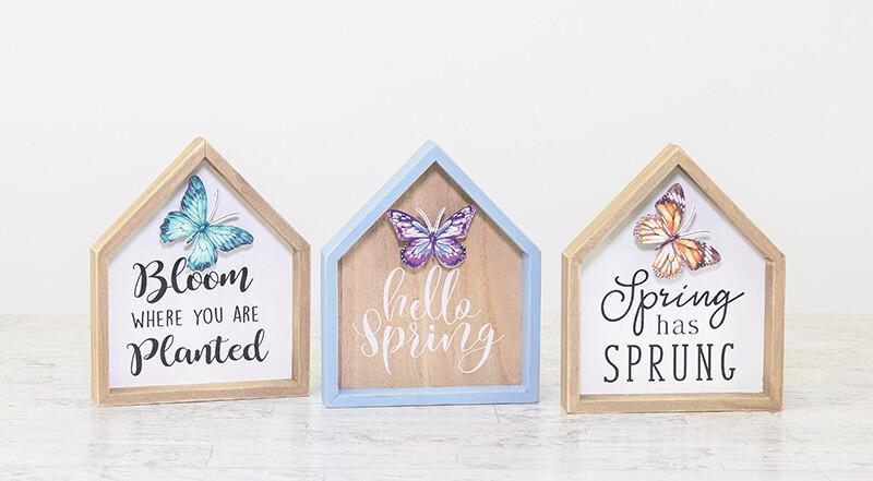 Butterfly House Block