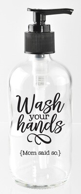 Wash Your Hands Mom