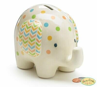 Bank Elephant Polka Dots
