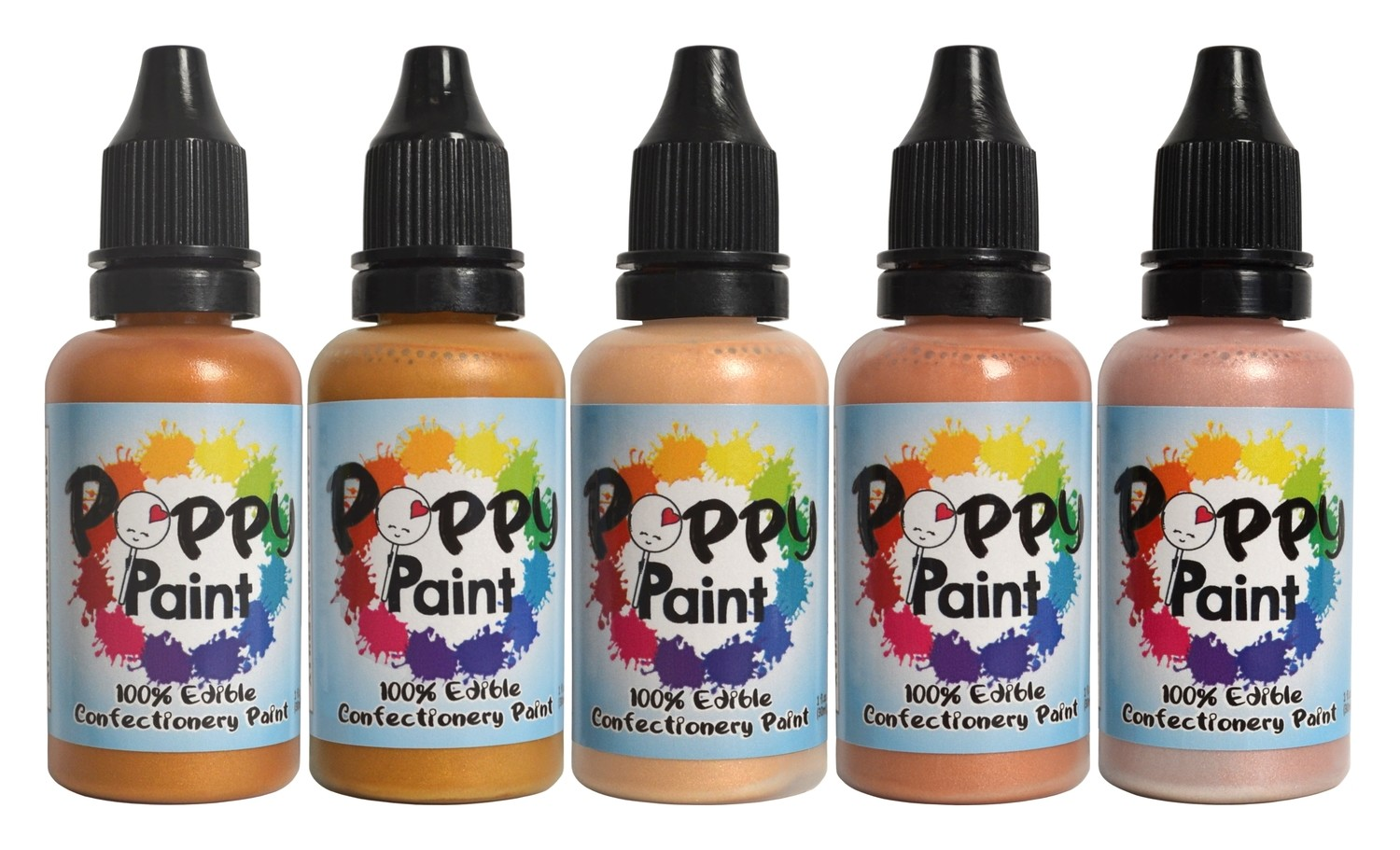 Poppy Paint Pearlescents All That Glitters Set