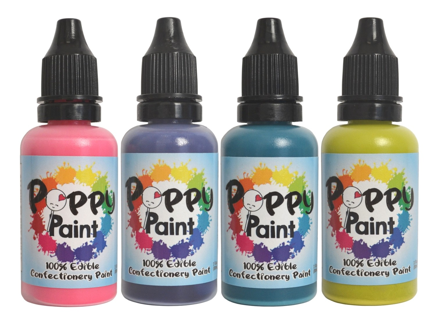 Poppy Paint Vibrant Set