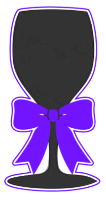Wine Glass with Bow 01