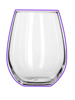 Stemless Wine Glass 01