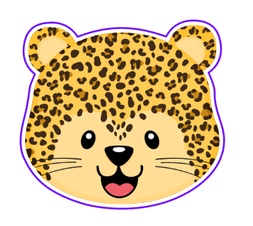 Leopard Face 01