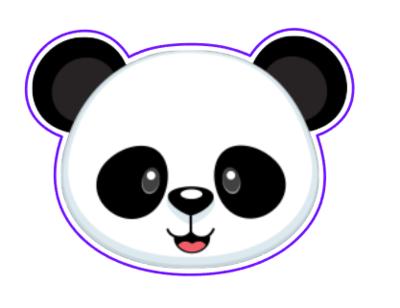 Panda Face 01