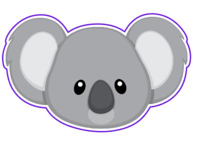 Koala Face 01