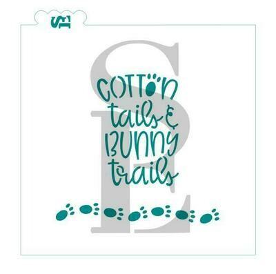 SE Cotton Tails and Bunny Trails  Stencil
