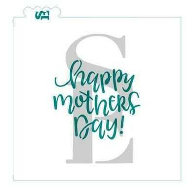 SE Happy Mother's Day Stencil