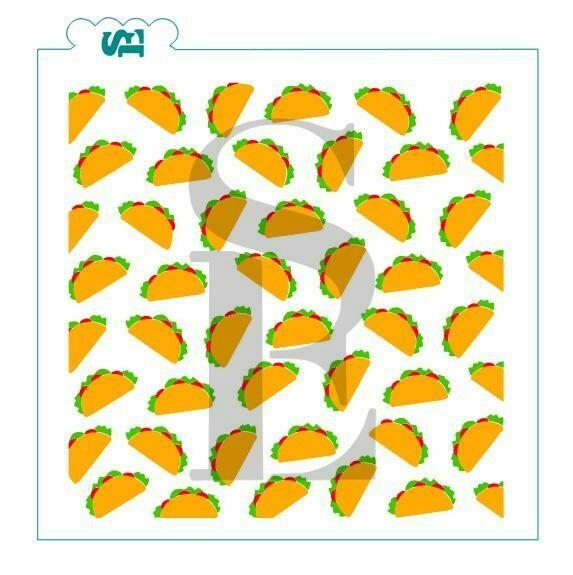 SE Taco's 3 Piece Stencil