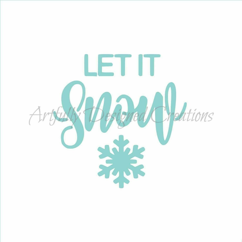 AD Let it Snow