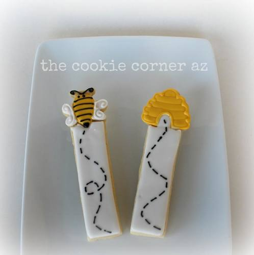 Beehive Cookie Stick (This is for the beehive only)