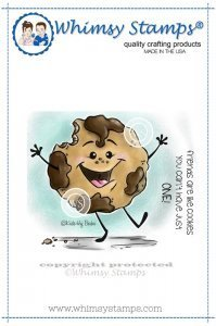Cookie Rubber Stamp