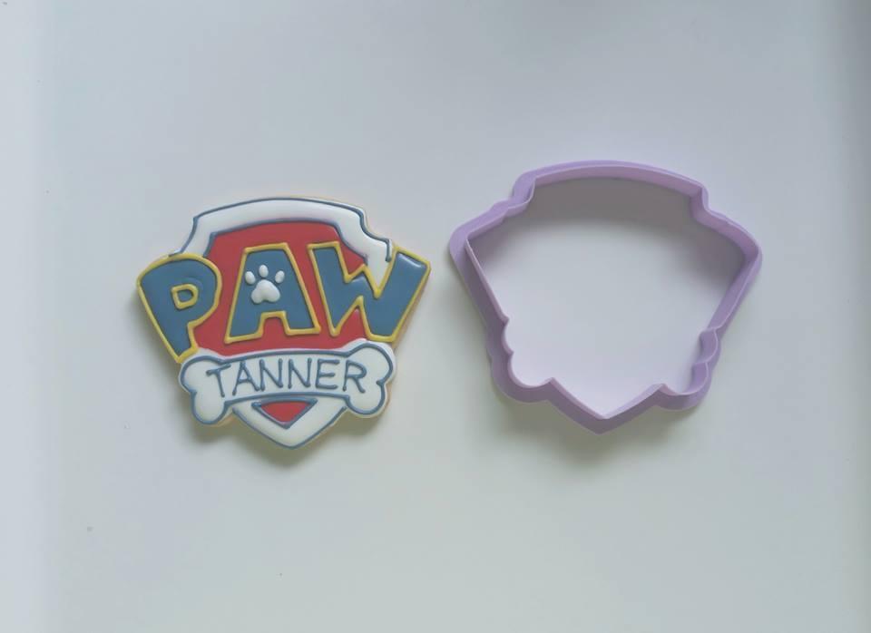 """Paw Patrol Logo (paw 01 3.5"""")"""