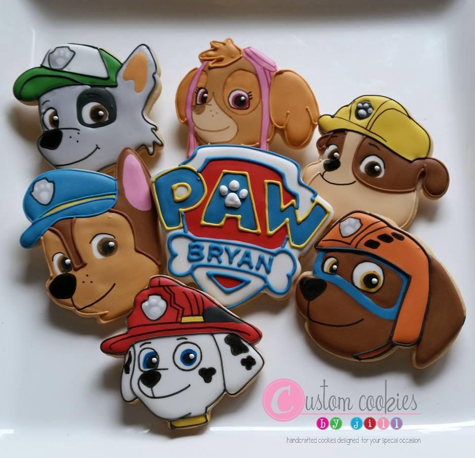 "Paw Patrol Set (1, 2, 3, 4, 5, 6, Paw 01 3.5"")"