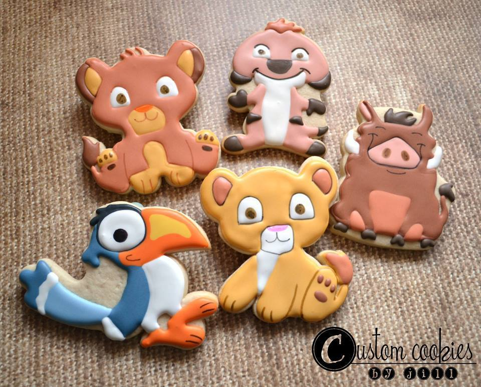 Lion King Gang (Critters 1-4 and bird 02))