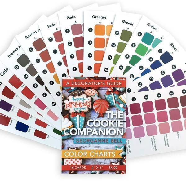Lila Loa Color Chart (The Cookie Companion)