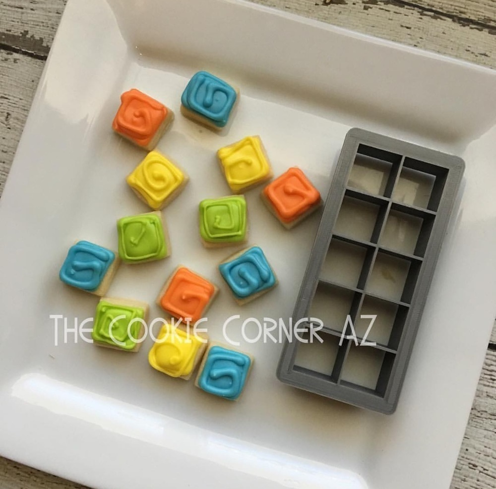 "Square .75"" (Cuts 10)"