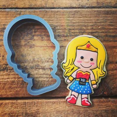 Girl Super Hero 01