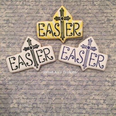 Easter Plaque Cross 01