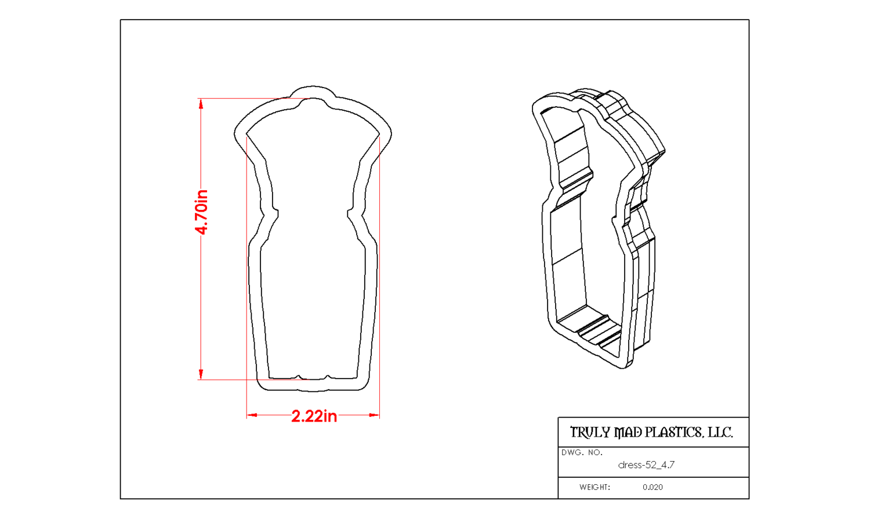 Dress 52 (sheath)