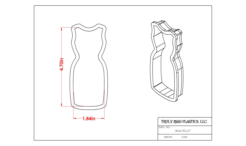 Dress 53 (bobycon)