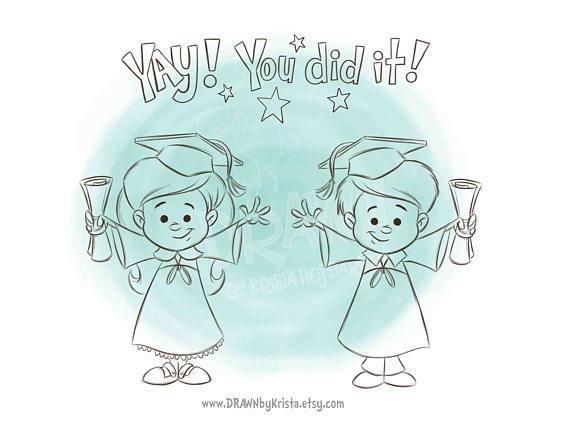 Graduate Boy 01 and Girl 01
