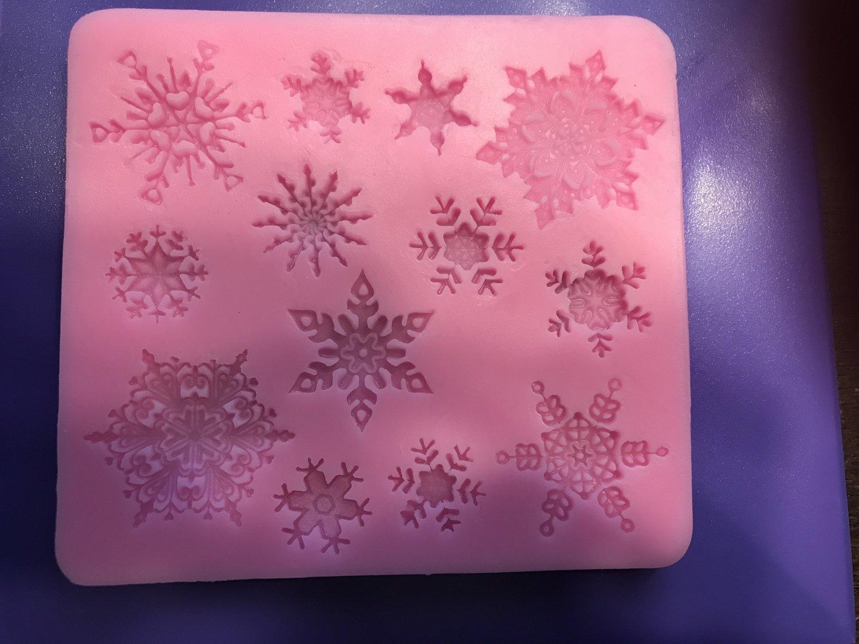 Snowflakes Silicone Mold
