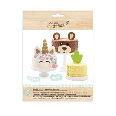 Sweet Sugarbelle Cookie Top Cutters Set