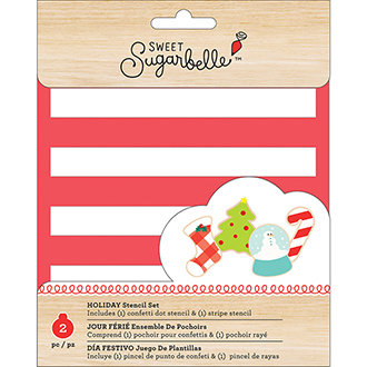 Sweet Sugarbelle Holiday Stencil Set