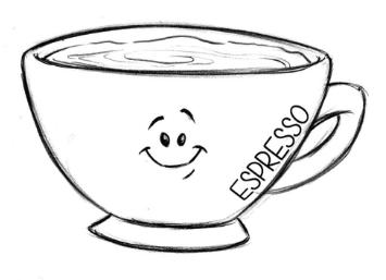 Drawn Espresso 01 Coffee