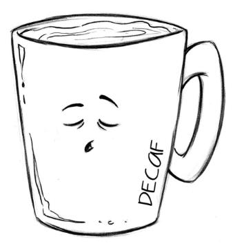 Drawn Decaf 01 Coffee