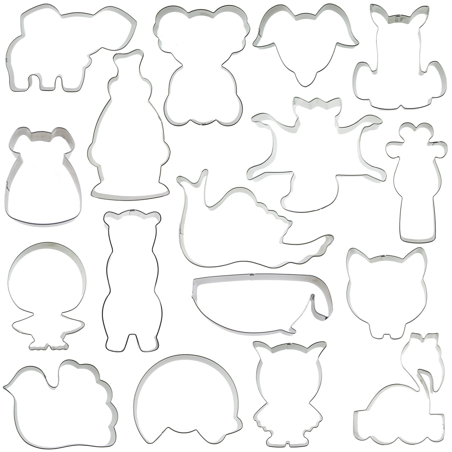 Sweet Elite Animals Charity Cutter Set