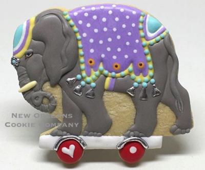 Circus Elephant 05