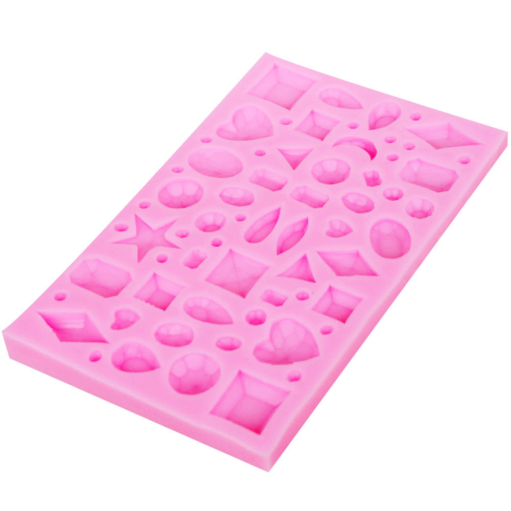 Gems Silicone Mold